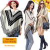 ☆F/W WOMEN′S FASHION◆Stylish Knited Shawl Capes◆Unique Pattern Design/ High quality acrylic fiber material/ 4 styles/ free size
