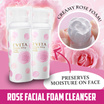 Kanebo Evita Beauty Whip Soap/ Rose Facial Foam Cleanser / facial foam/ creamy foam