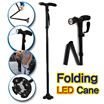 Magic cane Newest Ultra-light Handle Dependable Folding Cane With Built-in Light TRUSTY CANE