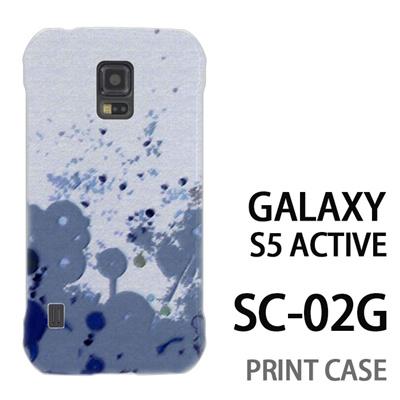 GALAXY S5 Active SC-02G 用『No3 キャンバス グリーン』特殊印刷ケース【 galaxy s5 active SC-02G sc02g SC02G galaxys5 ギャラクシー ギャラクシーs5 アクティブ docomo ケース プリント カバー スマホケース スマホカバー】の画像