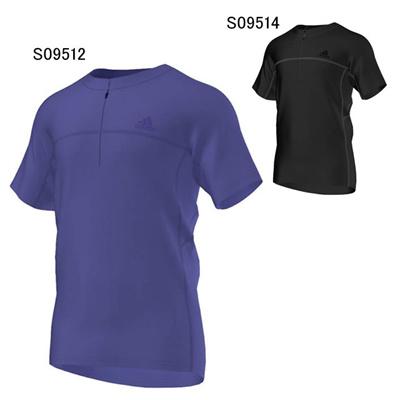 アディダス (adidas) SWIFT DryDye ハーフジップT ITO09 [分類:アウトドアウェア Tシャツ (メンズ・ユニセックス)]の画像