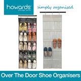 Howards Storage World - Over-The-Door Shoe Organisers