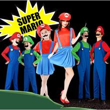 🔥 HOMESALE限定特価🔥【赤字覚悟の大値引き!】ハロウィンコスプレ スーパーマリオ風 コスチューム supermario マリオ風 Mario 子供用 セット ゲームコス 変装 パーティー