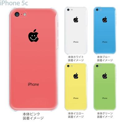 【iPhone5c】【iPhone5c ケース】【iPhone5c カバー】【iPhone】【クリア ケース】【カバー】【スマホケース】【クリアケース】【イラスト】【クリアーアーツ】【スマイル】 08-ip5c-ca0108の画像
