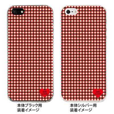 【iPhone5S】【iPhone5】【Clear Fashion】【iPhone5ケース】【カバー】【スマホケース】【クリアケース】【with LOVE】 ip5-09-wl0001の画像