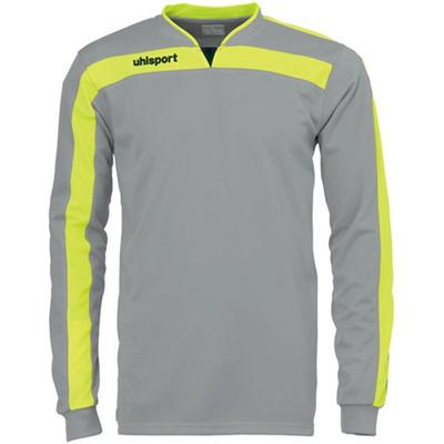 ウールシュポルト(uhlsport) リガ ゴールキーパーシャツ 1005571 SGRY/Fイエロー 【サッカーウェア ウエア GK 長袖】の画像