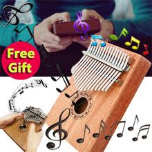 Christmas gifts Music Mahogany Kalimba Acoustic Thumb piano easy to learn African Thumb Piano