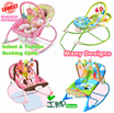 ★IMP HOUSE★[Baby Rocking Chair][Infant to Toddler Rocker]Baby rocker/Baby Bouncer/baby full month gift/3 hanging toys/vibration function/2 colors/pink/green