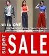 Korean Fashion Retro Casual Jacket/Culottes/Dressabelle/High Wide Leg Pants/Crop Top/Dress/T Shirt/Blouse Long Sleeve/Short Pants/Pants/Jeans