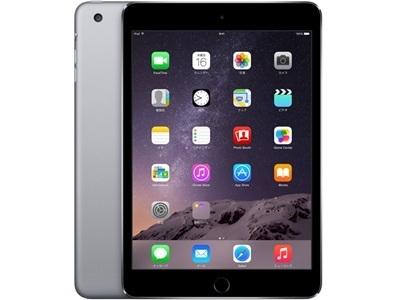 アップル iPad mini 3 Wi-Fiモデル 16GB MGNR2J/A [スペースグレイ]の画像