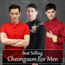 Cheongsam for Men 唐装 CNY / Wedding/ DINER / DND Chinese New Year fashion men shirt