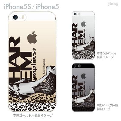 【iPhone5S】【iPhone5】【HAREM graphics】【iPhone5sケース】【カバー】【スマホケース】【クリアケース】 hgx-ip5s-009の画像