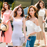 ★ ワンピならCHUSHOPで ★ QOO10入店記念全商品10%OFF!さらに超特価セール実施中!♥おしゃれなシルエットのワンピコレクション♥今韓国で大人気ワンピースショップ!韓国ファッション