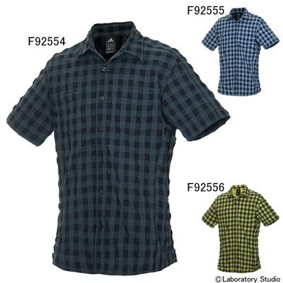 アディダス (adidas) PR ギンガムチェックシャツ DEL32 [分類:メンズファッション カジュアルシャツ 半袖] 送料無料の画像