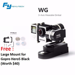 Feiyu Wearable Gimbal for GoPro and other Action Cameras [WG][WGS]