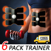 【local shipping】★Hot in Japan ★ Six-Pack AB Trainer/Six Pack EMS Training Pad / Body Maker