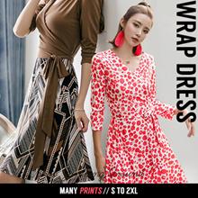 Wrap Dress NEW Arrivals Trendy