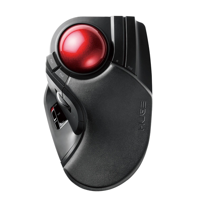 ELECOM Wireless Trackball Mouse Large M-HT1DRXBK