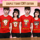 New Arrival Couple T-shirt Sincia / Chinese New Year Edition! kaos pasangan / baju couple