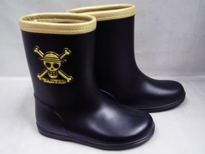 (B倉庫)ONE PIECE ワンピース 4276 子供長靴 男の子 キャラクター レインシューズ キッズ レインブーツの画像