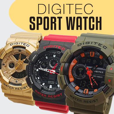 Jam Tangan Pria Watch Sport DIGITEC Original