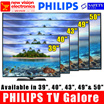Philips 39 Inch 39PHA4250 | Philips 40 Inch 40PFA4500 | Philips 40 Inch 40PFA4150 | Philips 43 Inch 43PFA4350 | Philips 43 Inch 43PFT6100 | Philips 49 Inch 49PFA4350 | Philips 50 Inch TV 50PFT5100