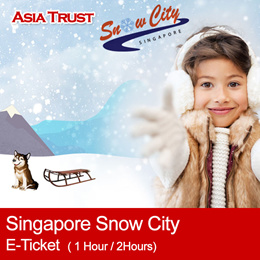 Snow City Singapore Attraction Open Date E-ticket (1 Hour / 2 Hours)
