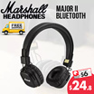 Marshall Major II Wireless Bluetooth Foldable Headphone with Built-in Microphone and Remote