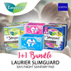 [G-DYNA] 1+1 Laurier Slimguard Day/Night -Sanitary pad