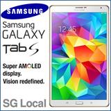 Samsung Galaxy Tab S (8.4) LTE / 16GB / 3GB RAM / Local Samsung / One Year SG Warranty / Local set