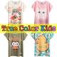 [SG Local shipping][Kids]Boy and Girls ★4Y to 9Y★Design By Korea True Color Short sleeved T-shirt Unique printing High quality cotton T-shirt Christmas Gifts