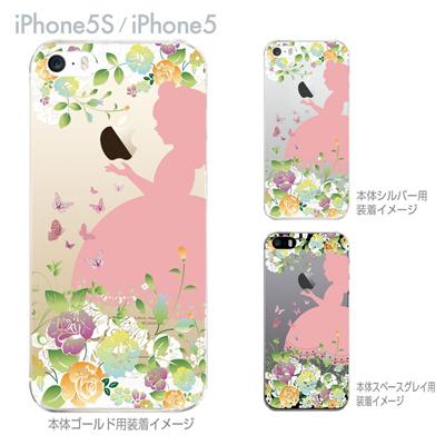 【iPhone5S】【iPhone5】【Clear Arts】【iPhone5ケース】【iPhone ケース】【クリア カバー】【スマホケース】【クリアケース】【ハードケース】【着せ替え】【イラスト】【クリアーアーツ】【白雪姫】 08-ip5-ca0100dの画像