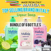 [Bundle of 6 Bottles] Malizia Hand Soap