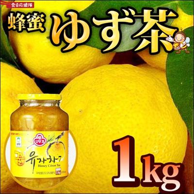 オットギ 三和 蜂蜜ゆず茶1kg 柚子茶 韓国お茶 健康茶 ハチミツ柚子茶の画像