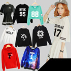 SS87 Star with a long sleeved sweater / T-shirt / printing / clothing / baseball / long sleeved Sweater Hoodie / coat / sweater / coat / menstops