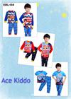 Flat price 2-7yrs old BOY Kids Pyjamas Cartoon Pajamas Character Paw Patrol Car Thomas Superhero