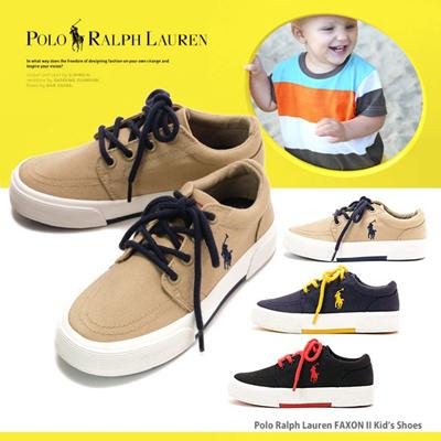 ポロ ラルフローレン POLO RALPH LAUREN 子供用 キッズ シューズ スニーカー 17cm-21cm シューズ 靴 くつ 通販の画像