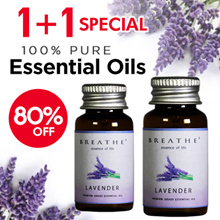 1+1 Special! [ 80% OFF]  ★Pure Natural Essential Oil ★ Natural Mosquito Repellent ★