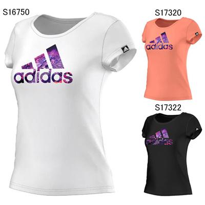 アディダス (adidas) レディース Graphic ナイトシティーTee JPD20 [分類:Tシャツ (レディース)]の画像