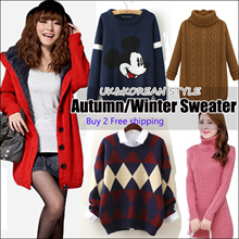 2017 *New Arrival * Winter Sweater Thermal Jacket*Korean version of womens sweaters / sweet little fresh and simple sweater