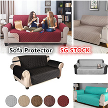 SG STOCK!Waterproof Reversible Sofa Cover Protector Pet Kids Mat Recliner Massage Chair Cover