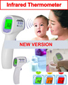 ★SG WARRANTY★ LOCAL SELLER★ HTD8808 Digital Infrared Thermometer Non Contact Three Color Backlight