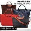 ❤ EXPANDABLE Tote Bag ❤ Travel bag | Cabin Bag | Premium Quality Luggage bag | Nylon Handbag
