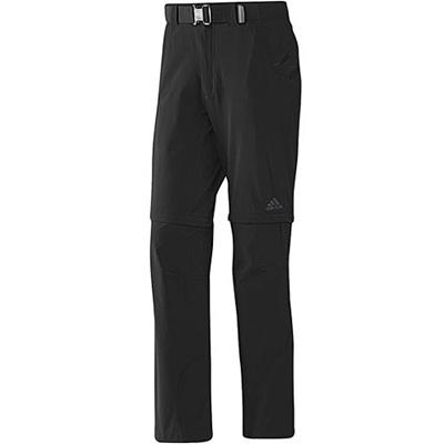 ◆即納◆★セール★アディダス(adidas) Hiking Flex Zipoff Pants ハイキング フレックス ジップオフ パンツ ADJ SW364 X12807 BLK 【スポーツ アウトドア 登山 トレッキング 撥水】の画像