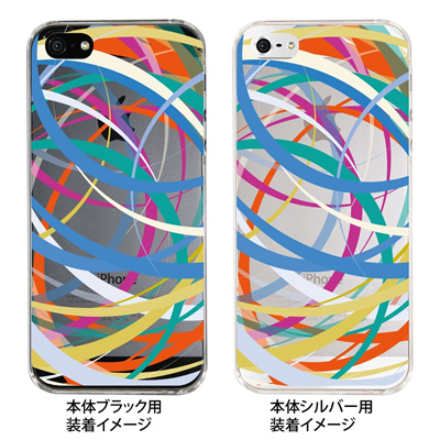 【iPhone5S】【iPhone5】【Clear Fashion】【iPhone5ケース】【カバー】【スマホケース】【クリアケース】【クリアーアーツ】【ライン】 09-ip5-ca0017 【10P01Sep13】の画像