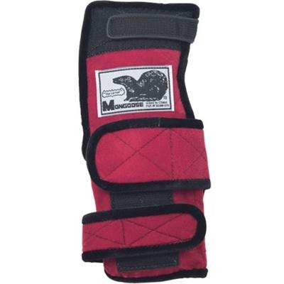 ABS(アメリカン ボウリング サービス) マングース レッド RD 【ボウリンググローブ リスタイ サポーター ボーリング】の画像