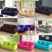Multi-size Universal  Sofa Cover plain color elastic sofa cloth sofa bed Couch L shaped Sofa cover