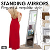 ★Standing Mirror ★Movable★Full length mirror★Classic ★Tall mirror ★JIJI