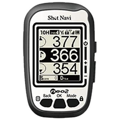 ショットナビ(SHOTNAVI)NEO-2GPSゴルフナビホワイト【コンパクト距離測定ナビゲーション】