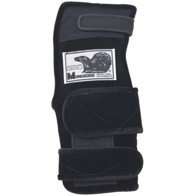 ABS(アメリカン ボウリング サービス) マングース ブラック BK 【ボウリンググローブ リスタイ サポーター ボーリング】の画像